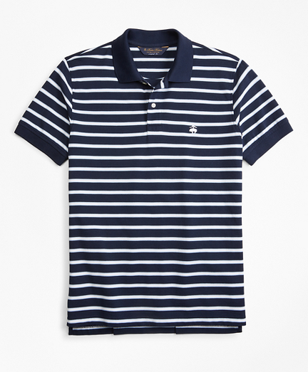 Original Fit Outlined Stripe Polo Shirt