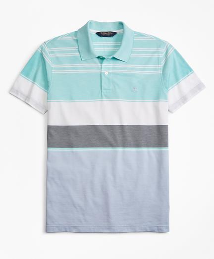 Original Fit Bold Stripe Polo Shirt