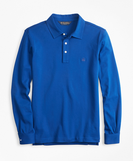 ce54527db Original Fit Cotton Jersey Long-Sleeve Polo Shirt. remembertooltipbutton