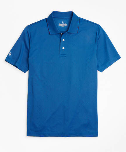 Performance Series Diamond Jacquard Polo Shirt