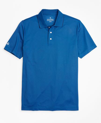Performance Series Diamond Jacquard Polo Shirt