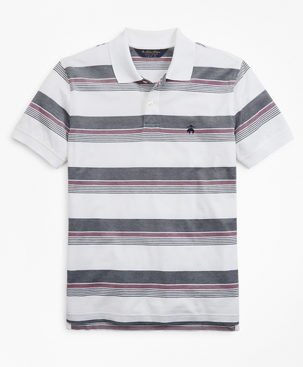 ce8fa3853 Original Fit Multi-Stripe Polo Shirt