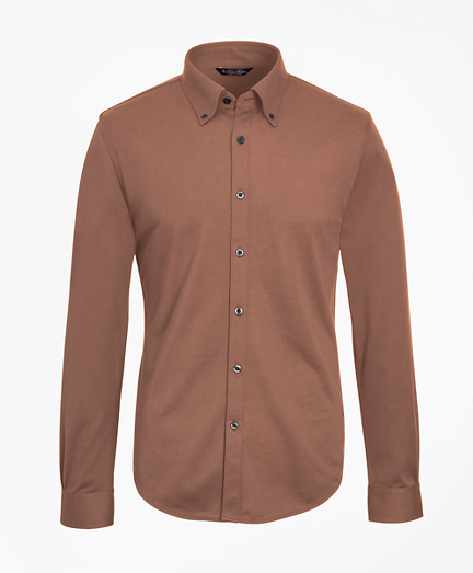 Tailored Lightweight Supima® Cotton Pique Shirt