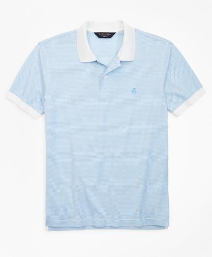 Slim Fit Stripe Polo Shirt