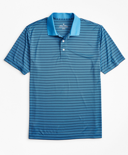 Performance Series Stripe Polo Shirt