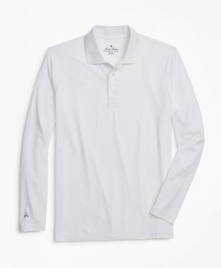 Performance Series Long-Sleeve Polo Shirt