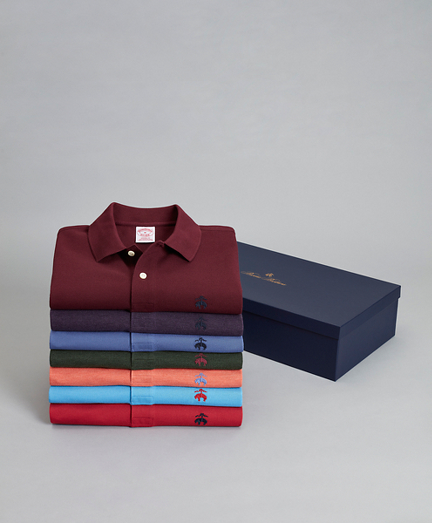 The Gent - Seven-Piece Original Fit Performance Polo Gift Set