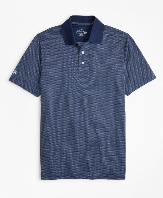Performance Series Dobby Polo Shirt Navy