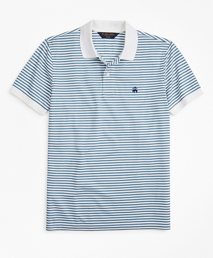 Slim Fit Feeder Stripe Polo Shirt