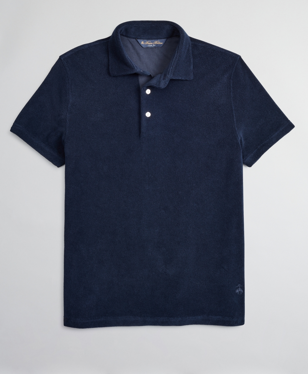Mens Vintage Shirts – Retro Shirts Brooks Brothers Mens French Terry Polo Shirt $62.65 AT vintagedancer.com