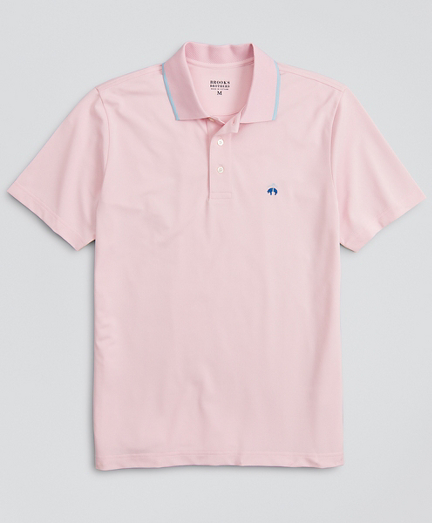 Performance Series Tipped Collar Polo Shirt