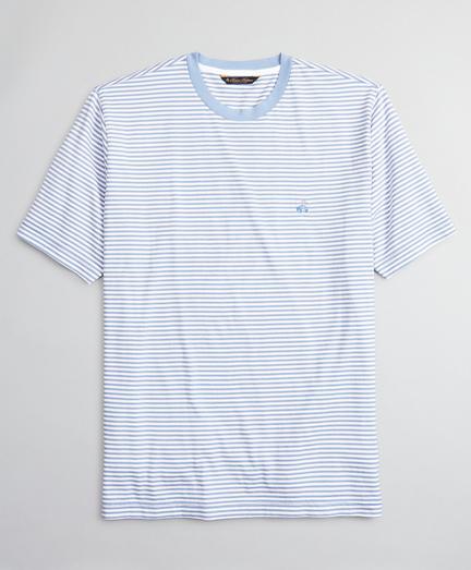 Supima® Cotton Feeder Stripe T-Shirt