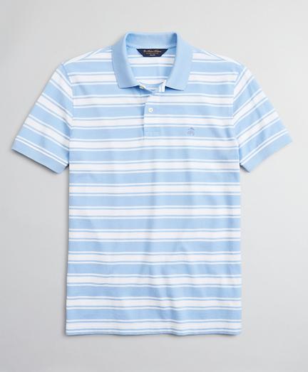 Original Fit Large Stripe Polo Shirt