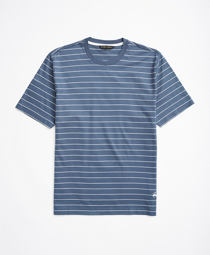 Cotton Thin Stripe T-Shirt