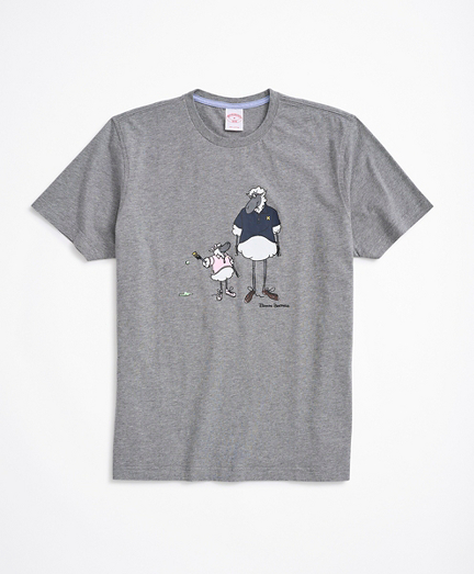 Henry and Daughter Graphic T-Shirt