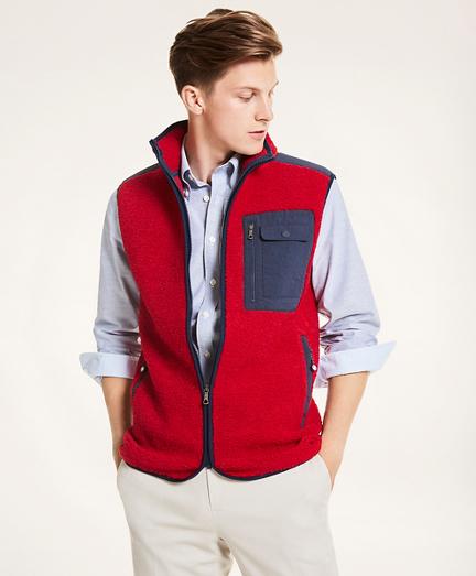 Sherpa Fleece Vest
