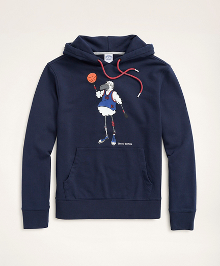 Henry Playing Basketball Graphic Hoodie
