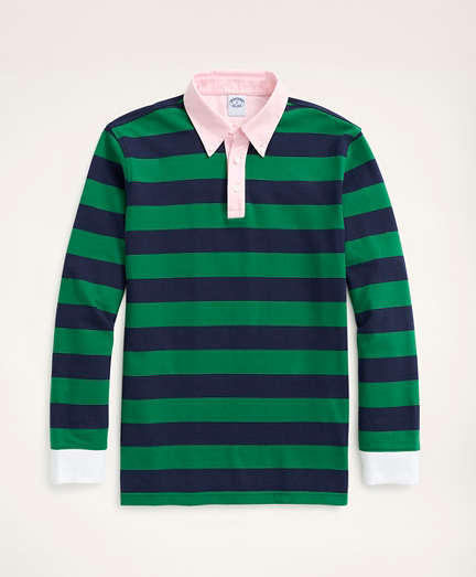 Rugby Shirt, BB#5 Rep Stripe