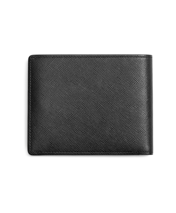 b6725e6ceac0 Men's Saffiano Leather Wallet | Brooks Brothers