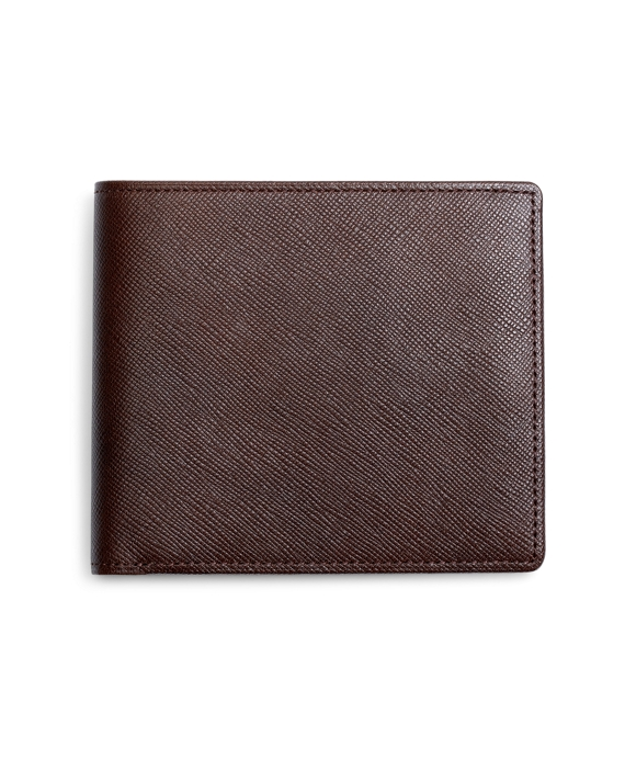 Saffiano Leather Wallet Brown