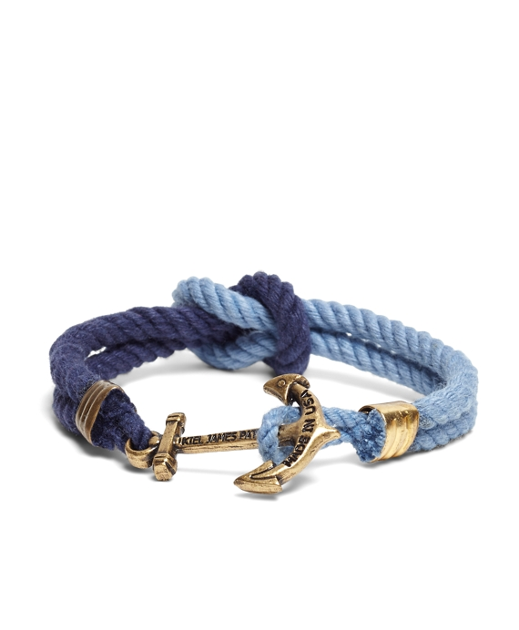4c71b6a9b2e Men s Kiel James Patrick Navy and Blue Triton Bracelet