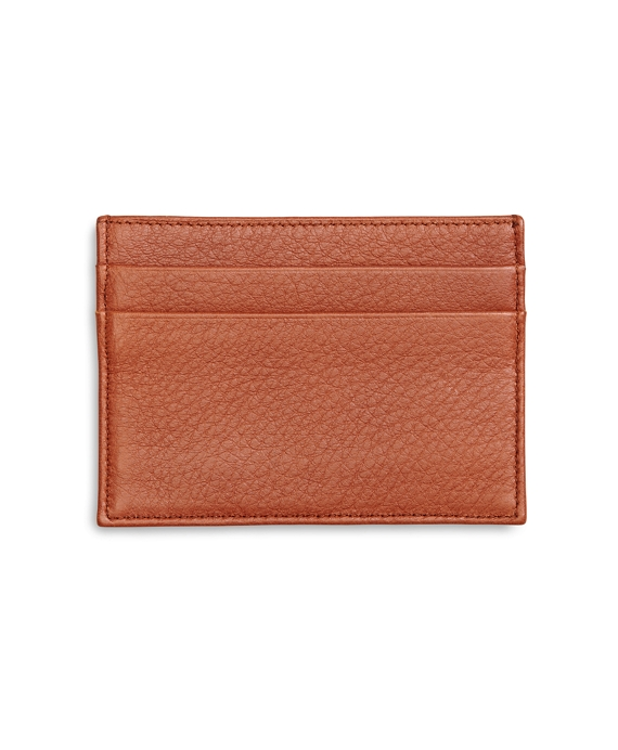 Leather Card Case Cognac