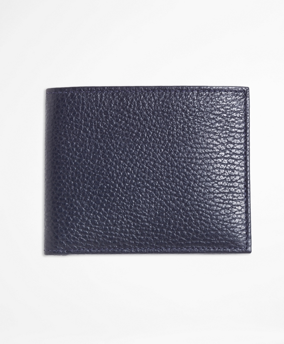 d2eceb02e8 Current Product Detail Image. Pebble Leather Wallet Navy