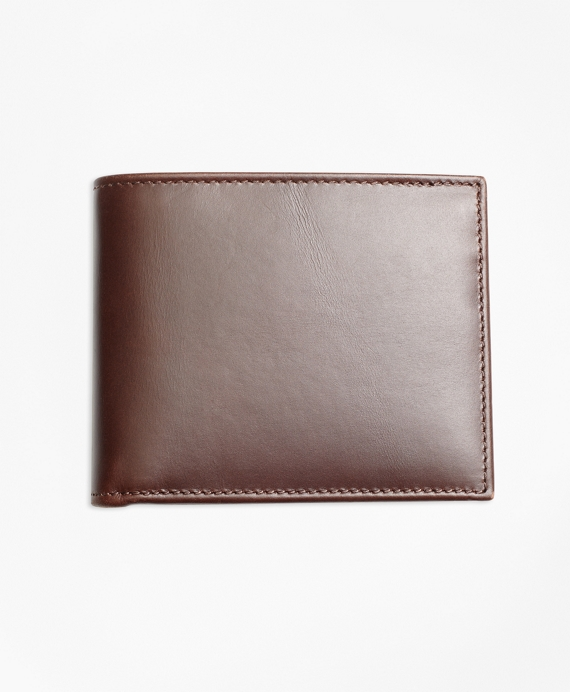 Soft Leather Billfold Brown