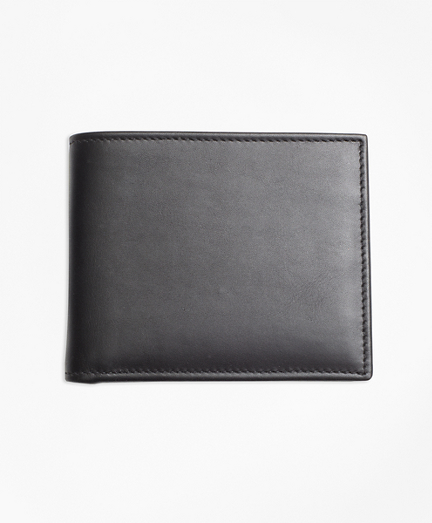 Leather with Black Watch Wallet