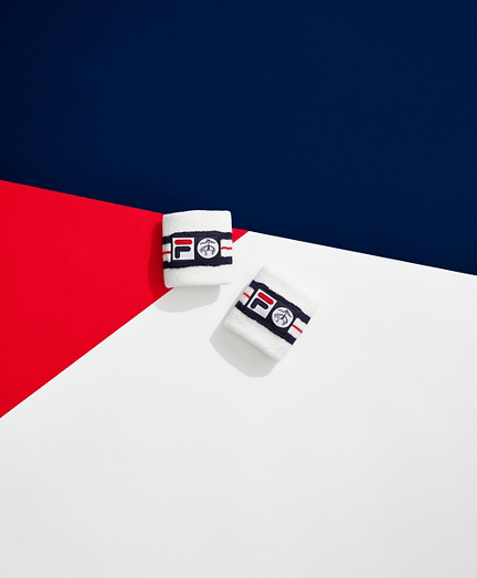 Brooks Brothers x FILA 76 Wristbands