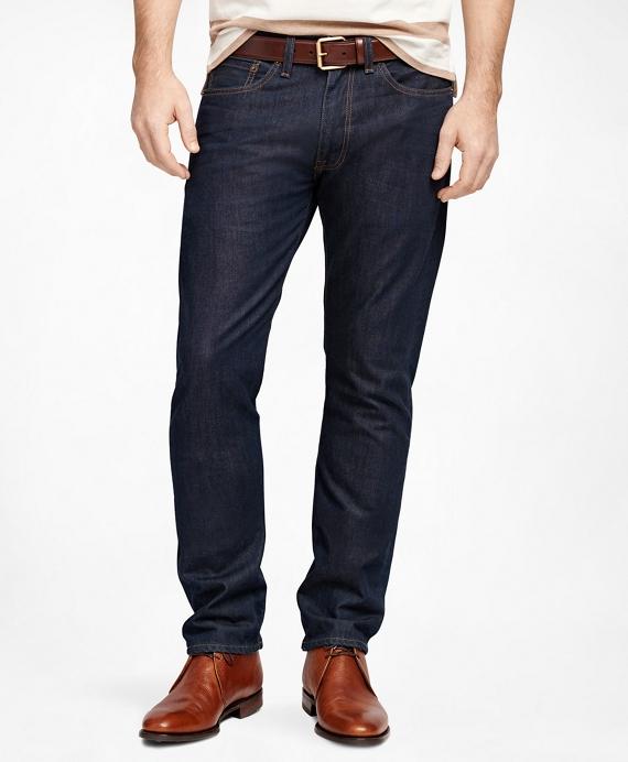 94e4d9eb0f9 Men's Supima Cotton Denim Straight Fit Jeans | Brooks Brothers