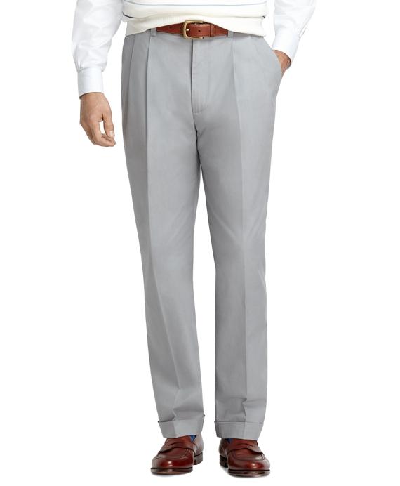 Elliot Fit Supima® Cotton Poplin Pants Grey