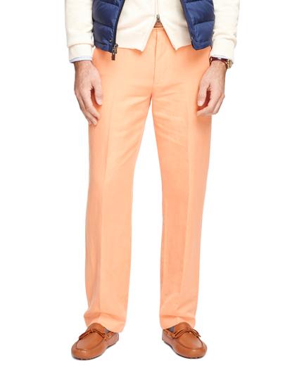 Clark Fit Linen and Cotton Pants