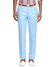 Milano Fit Linen and Cotton Pants