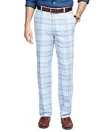 Clark Fit Plaid Pants