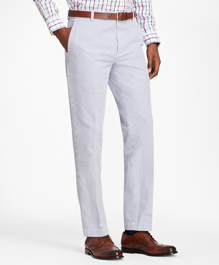 Milano Fit Seersucker Pants
