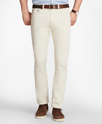Five-Pocket Selvedge Twill Pants