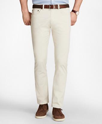 Five-Pocket Selvedge Twill Pants