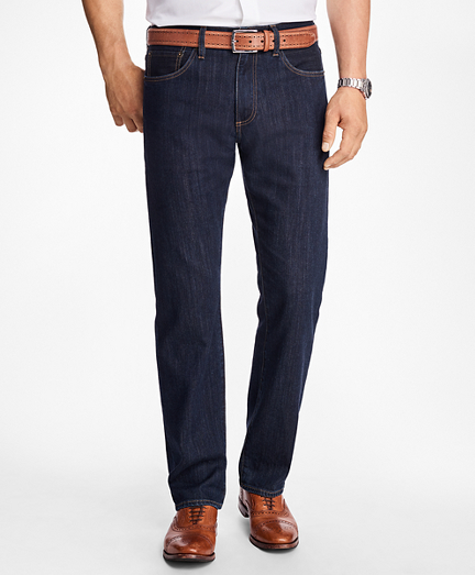 Supima® Stretch Denim Slim Fit Jeans