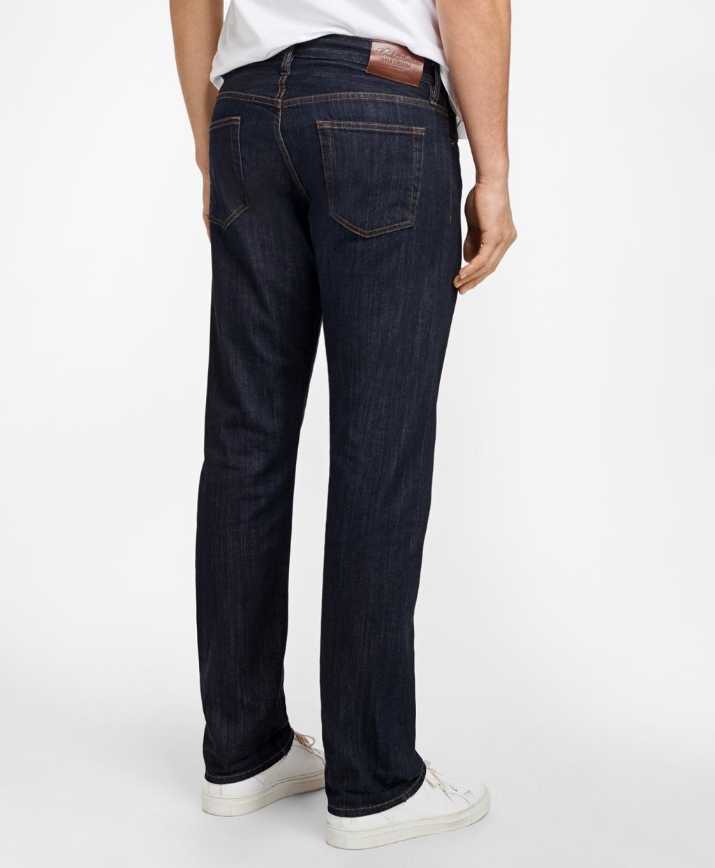 df24d4e9fd Supima® Stretch Denim Straight Fit Jeans - Brooks Brothers