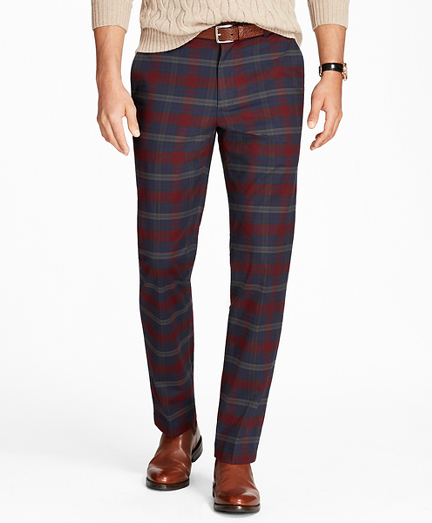 Clark Fit Tartan Stretch Pants
