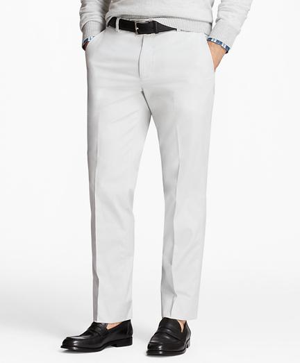 Milano Fit Supima® Cotton Poplin Stretch Chinos