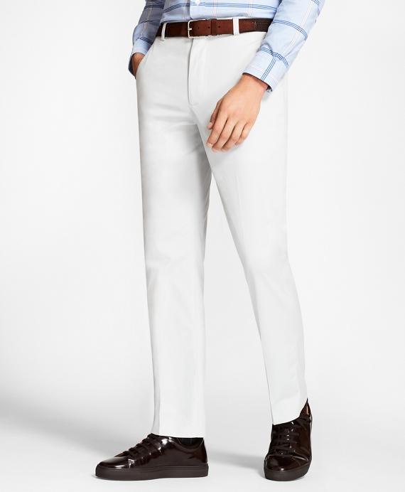 Clark Fit Supima® Cotton Poplin Stretch Chinos Grey