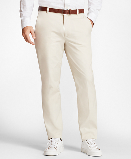 Clark Fit Supima® Cotton Poplin Stretch Chinos