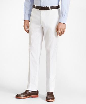 Clark Fit Supima® Cotton Poplin Stretch Chino Pants