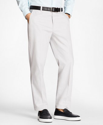 Non-Iron Clark Fit Supima® Cotton Oxford Chinos