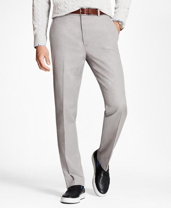 Clark Fit Houndstooth Stretch Advantage Chinos® Grey
