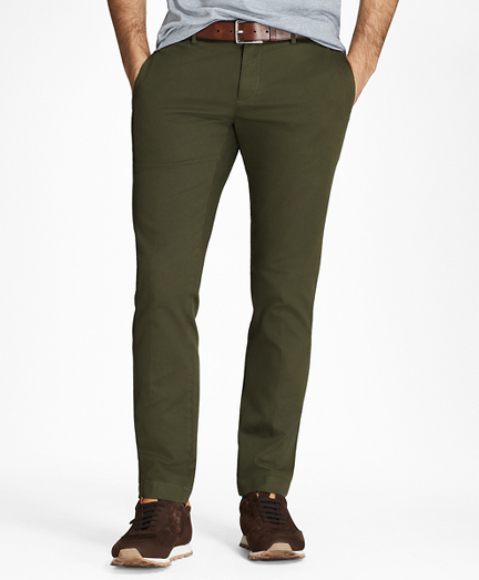 Garment-Dyed Chinos