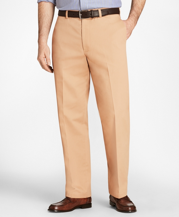 Hudson Fit Stretch Advantage Chino® Pants Dark Khaki