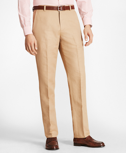 Clark Fit Linen and Cotton Chino Pants